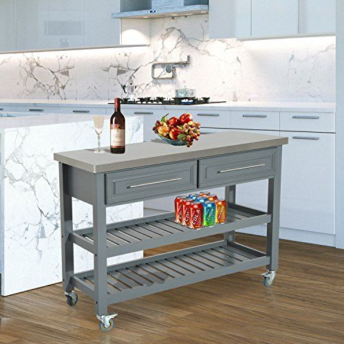 Generic Mdbus945428Top W Ers Drawers Casters Top Cart Enchanting Kitchen Island On Casters Design Decoration