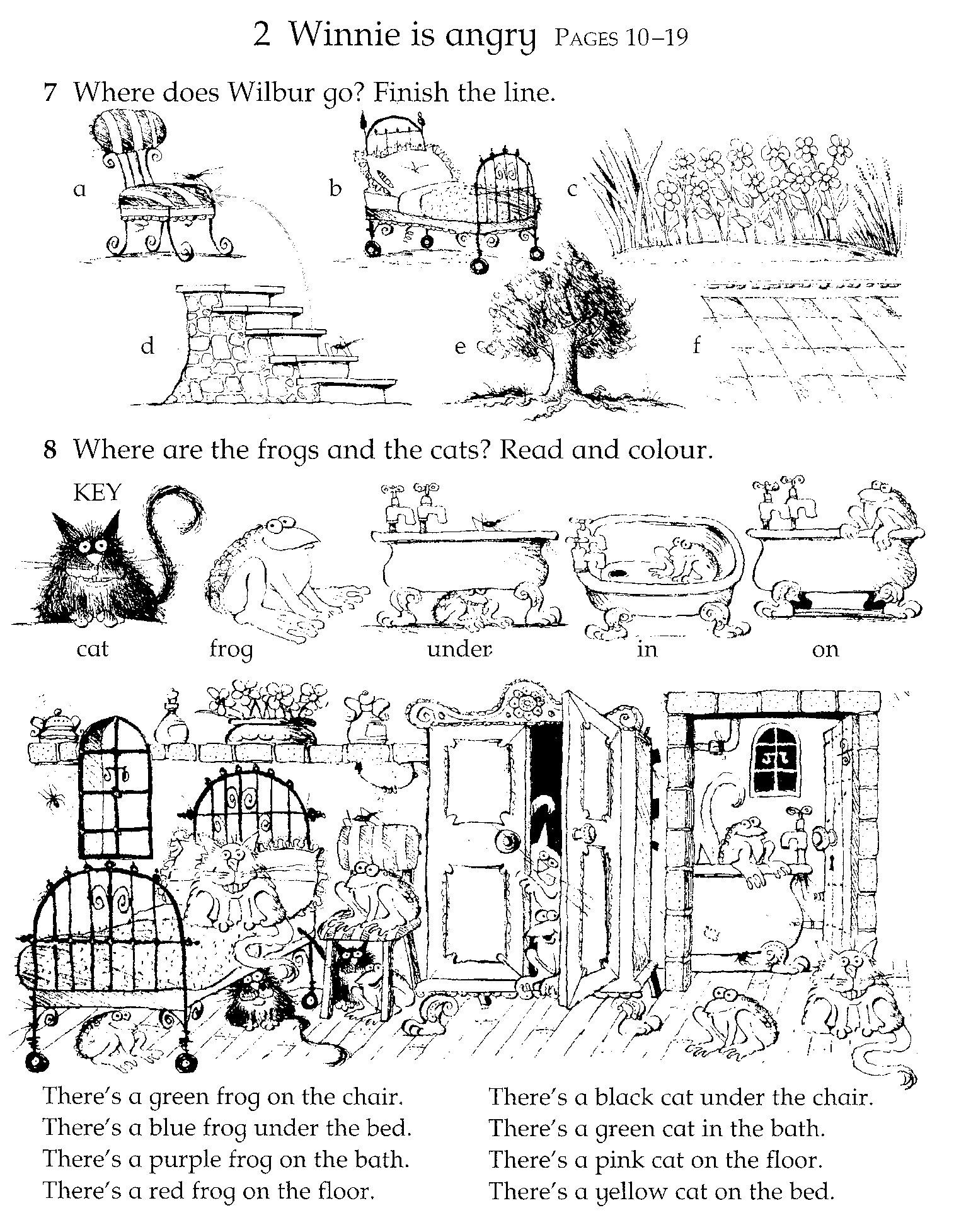 Fuentes\' English Corner : Winnie the Witch Activity Sheets ...