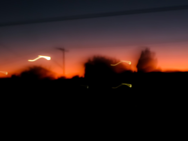 How to fix blurry dark scene