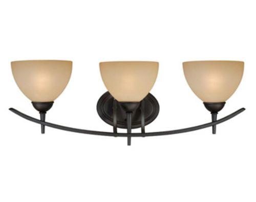 "Kichler Barrington 3 Light 22 In Cylinder Vanity Light At: Patriot Lighting® Somerville 26.25"" Oil-Rubbed Bronze 3"
