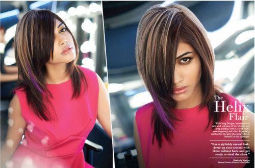 Lakme Fashion Feather Cut With Bangs