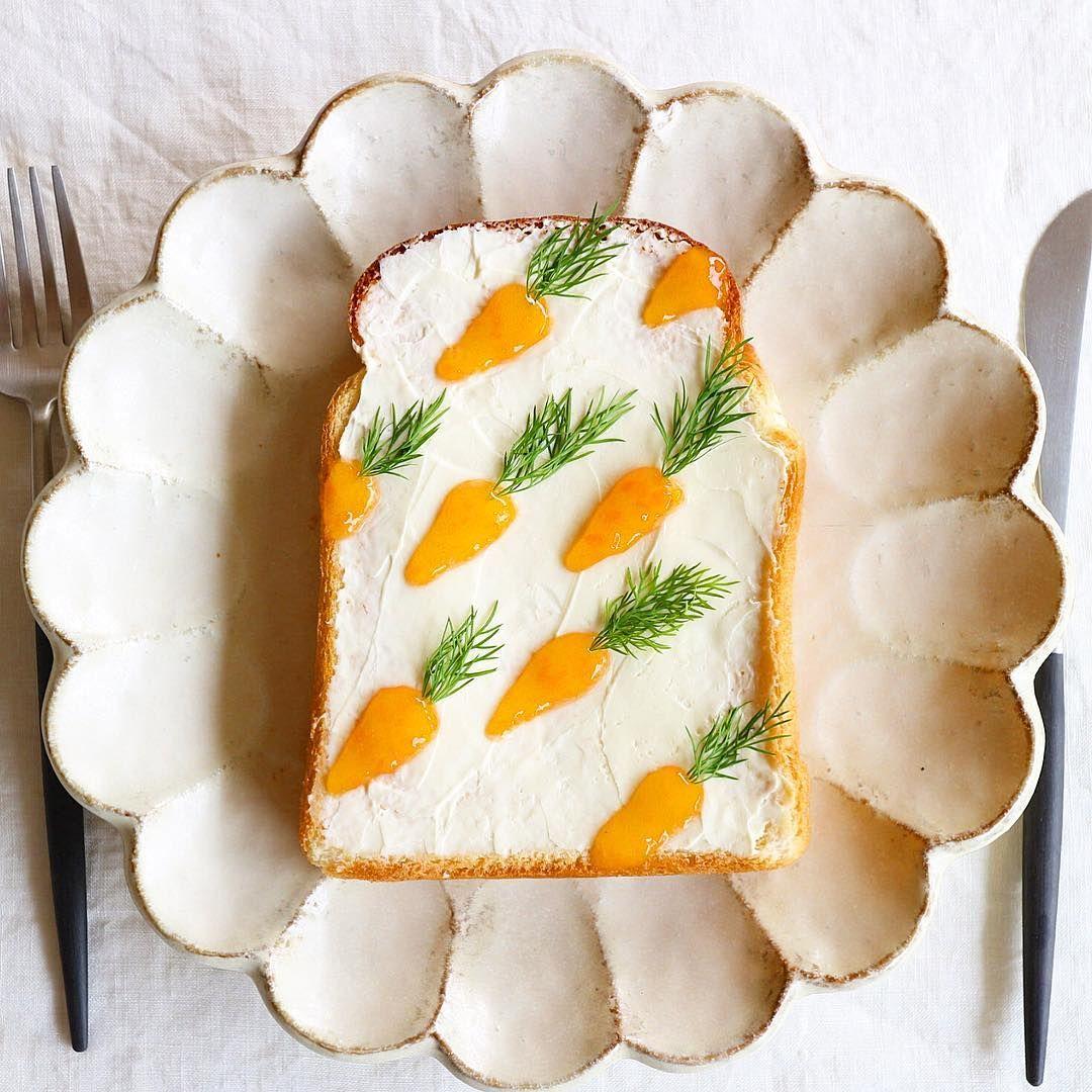 Carrot toast by Nayoko *・☆・*. (@nayoko054)