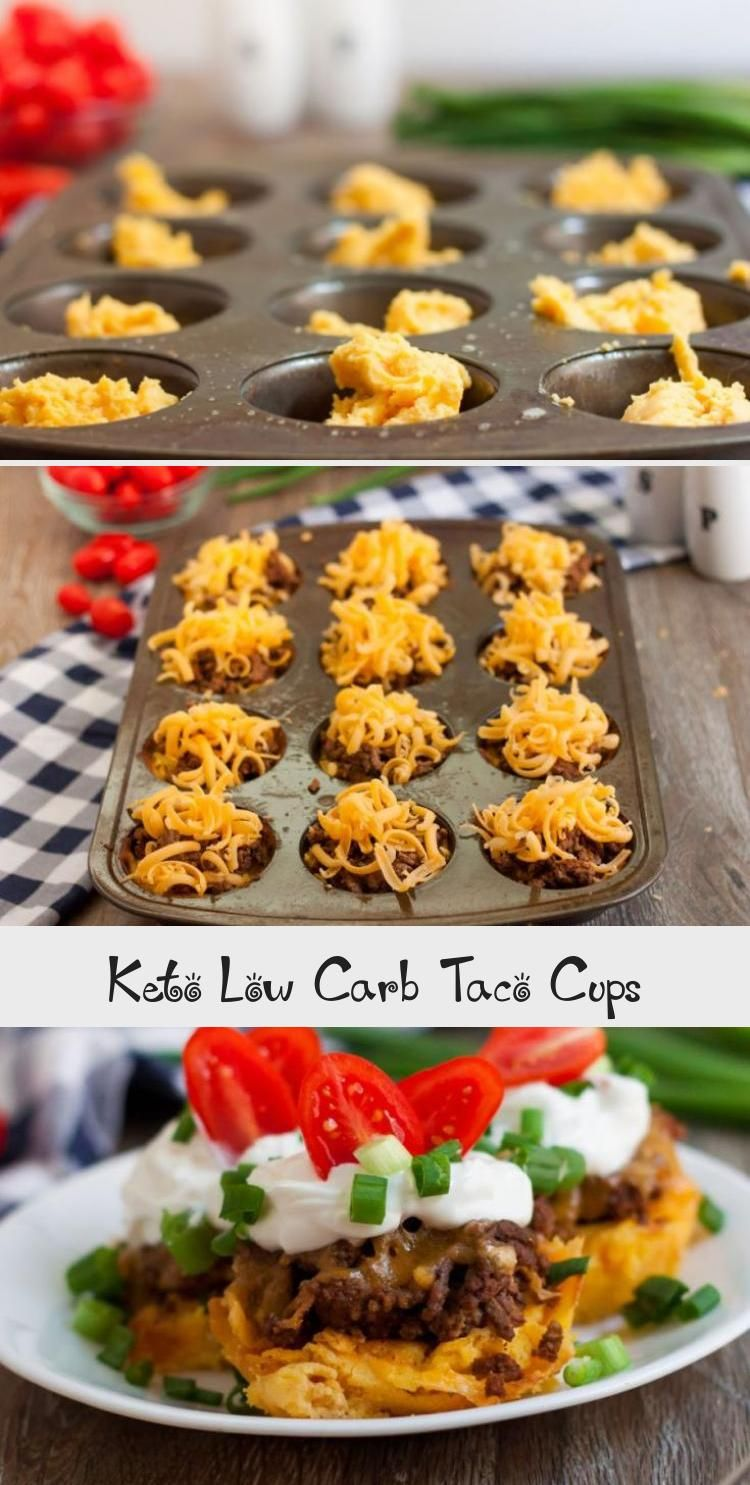 Keto Low Carb Taco Cups These Keto Low Carb Taco Cups are going to become one of your all-time favorite meals! Kids love the delicious flavor of the taco seasonings! This is a perfect low carb meal for your keto meal plan. Grab a few ingredients and whip these up for dinner tonight!