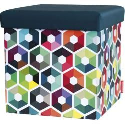 SitzBox Hocker Hexagon Denken Sie daran   – Products