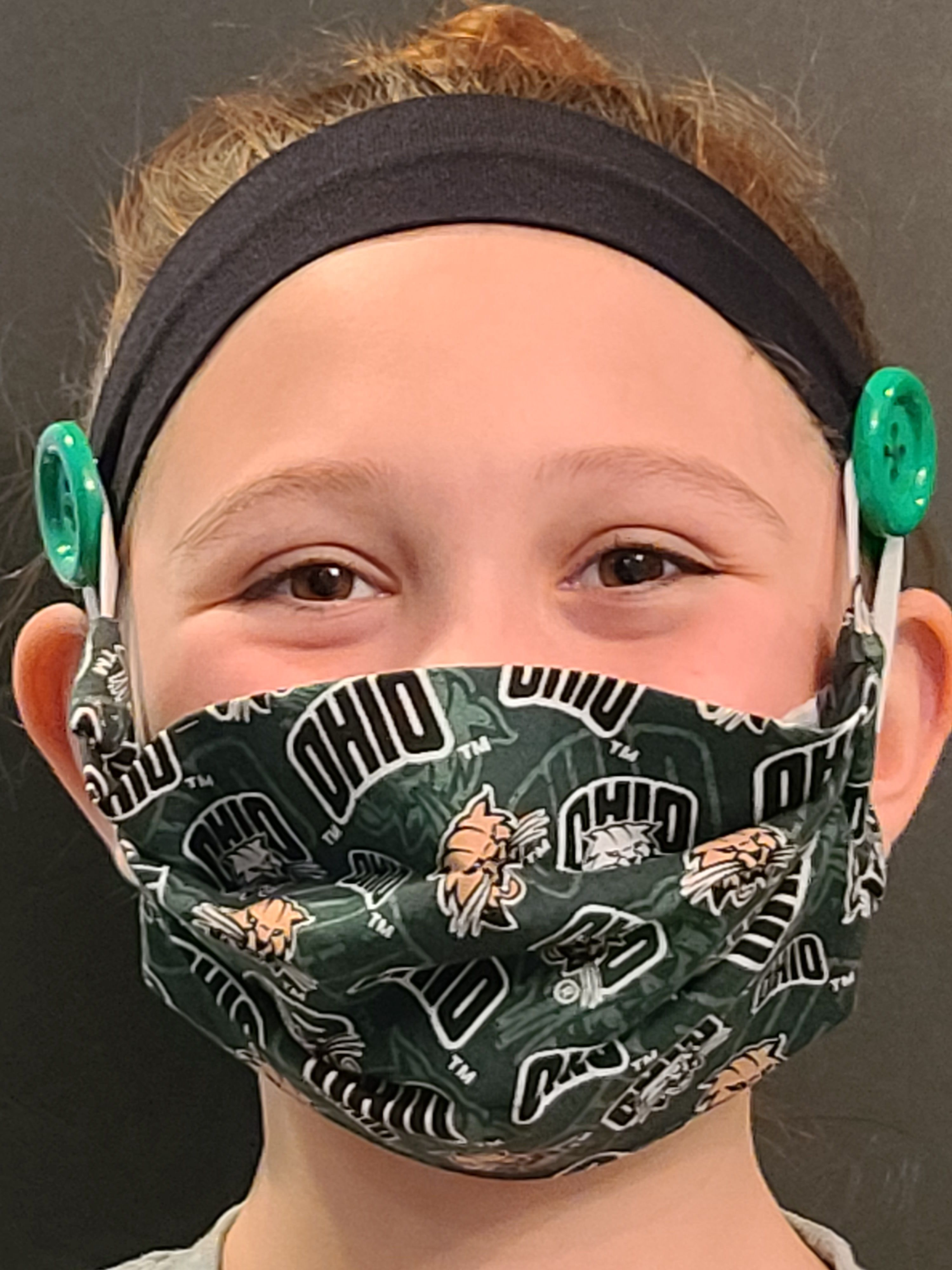 Hand Made Face Masks & Coordinating by SmallTownGirlyGirls on Etsy