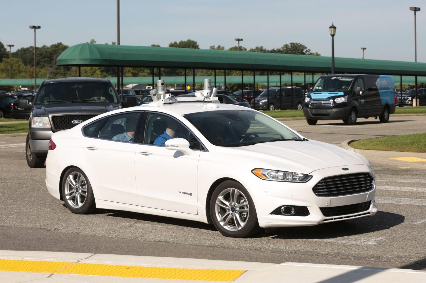 Ford previews the future of selfdriving vehicles Self