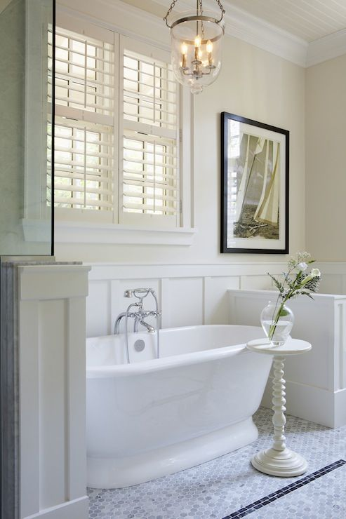 Muskoka Living - bathrooms - freestanding bath, soaking ...