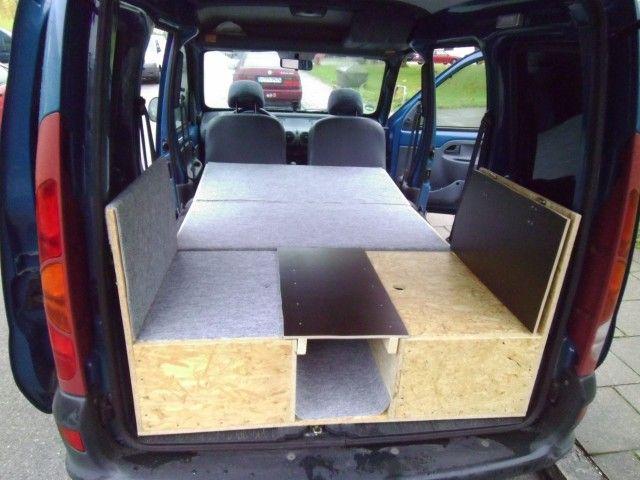 kangoo i camping solution camping campervans pinterest camper van conversions. Black Bedroom Furniture Sets. Home Design Ideas