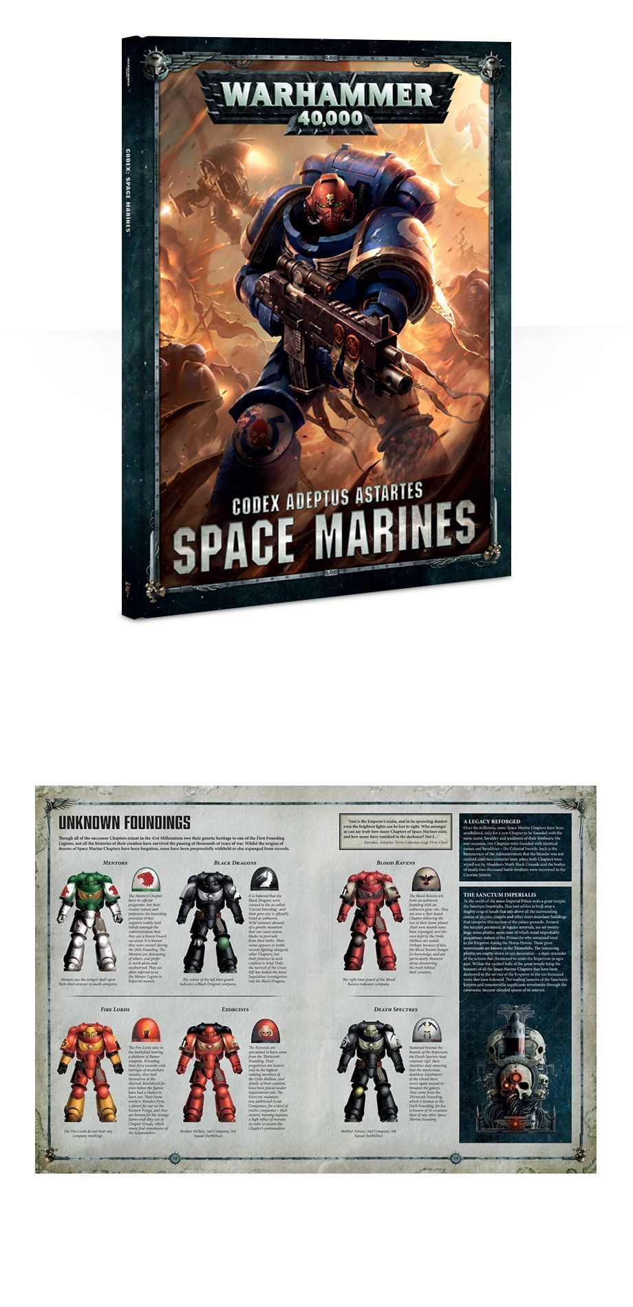 40K Rulebooks and Publications 90944: Warhammer 40K - Codex Adeptus