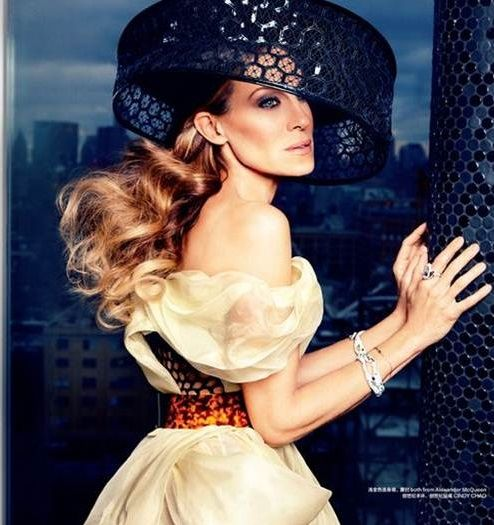 Sarah Jessica Parker - Harpers Bazaar Magazine - April