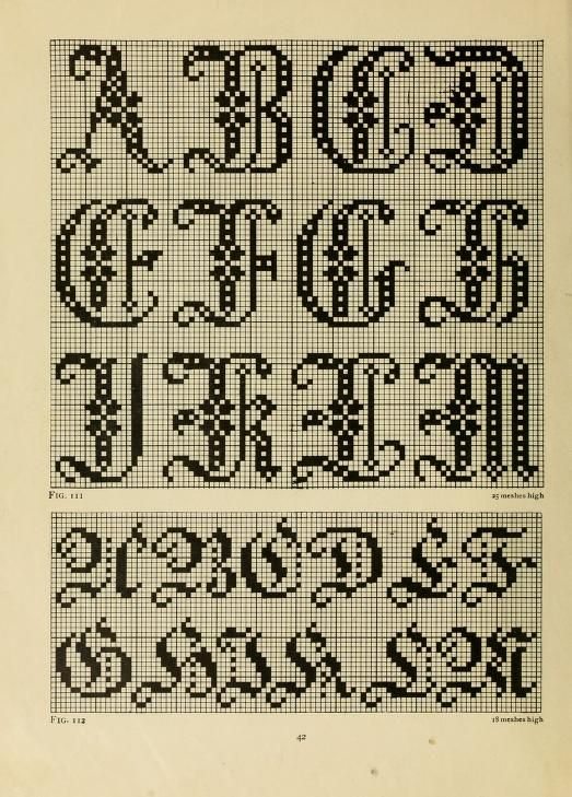The Priscilla filet crochet book; a collection ... | Proyectos que ...