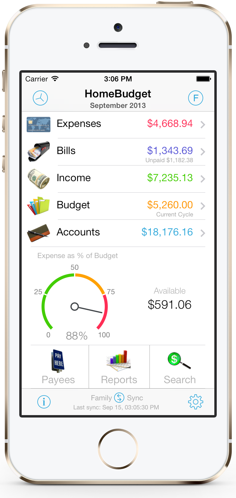 tracking expenses app iphone