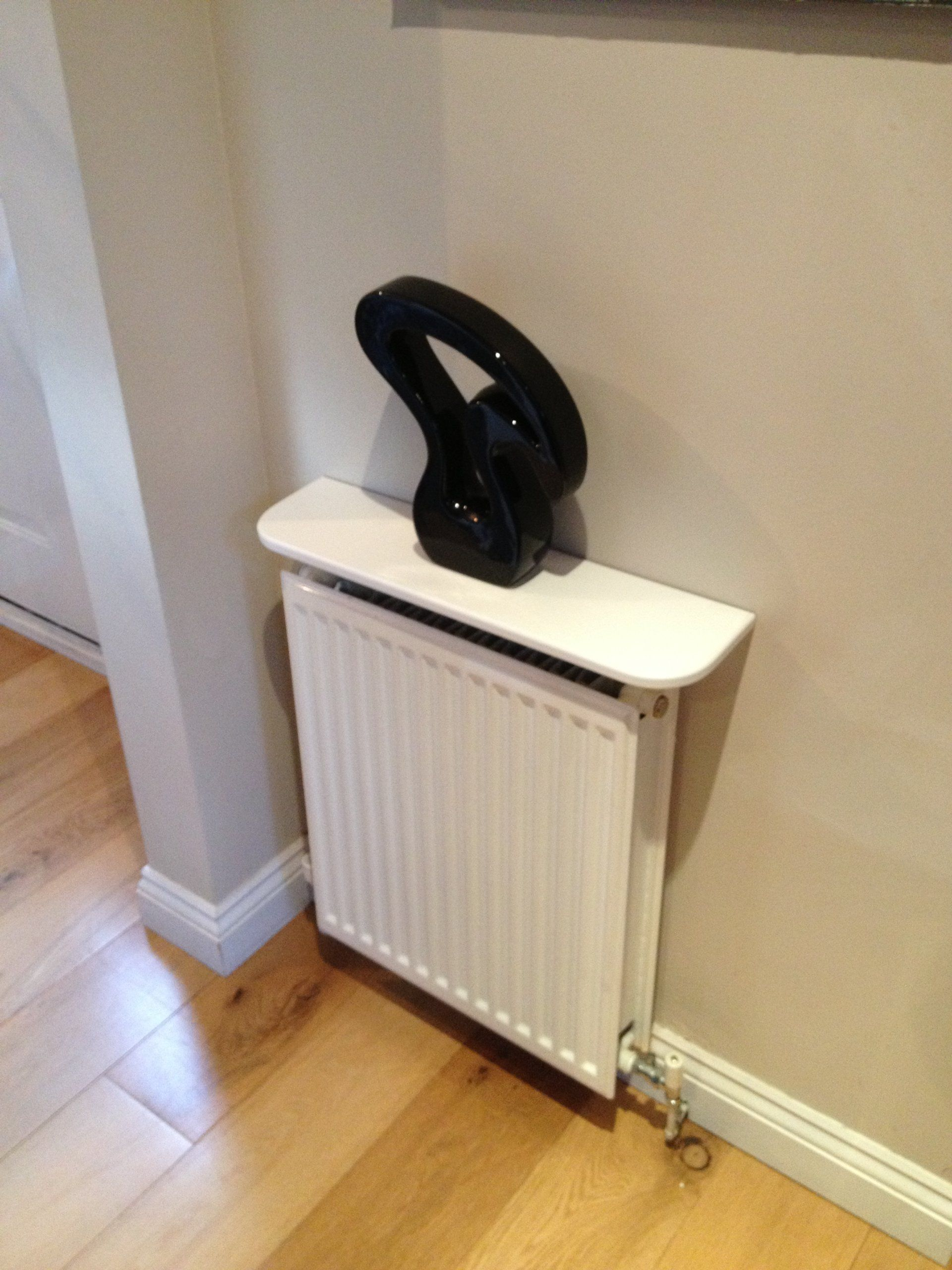 White Radiator Shelf - 600mm: Amazon.co.uk: Kitchen & Home