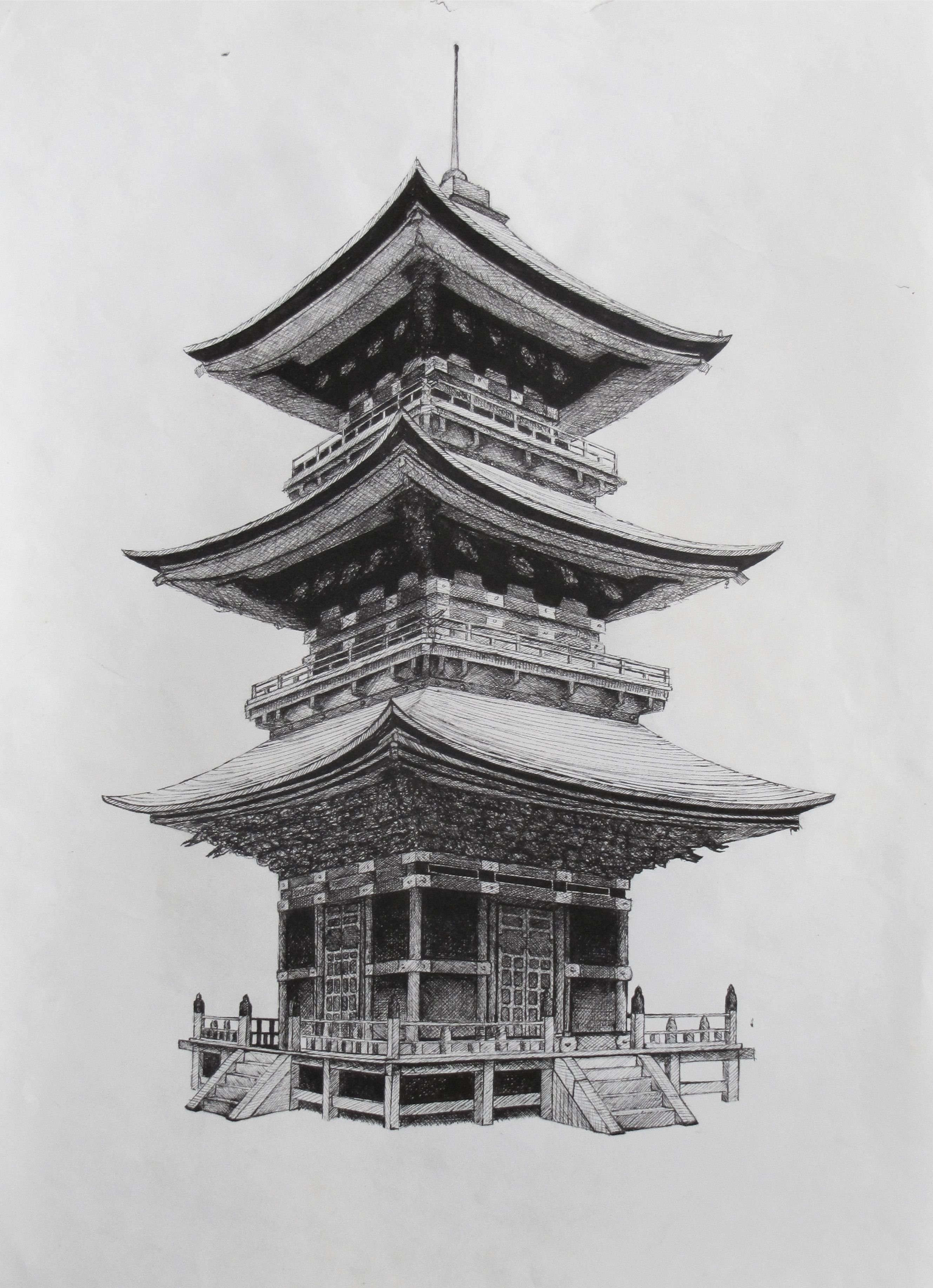 Japanese Temple By Suraj28 D5b1on1 2 658x3 672