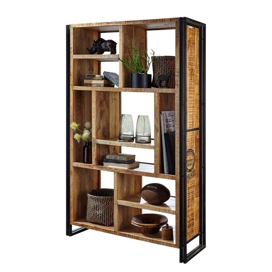 regal himalaya ii mango massiv eisen m bel m bel regal und wohnzimmer. Black Bedroom Furniture Sets. Home Design Ideas
