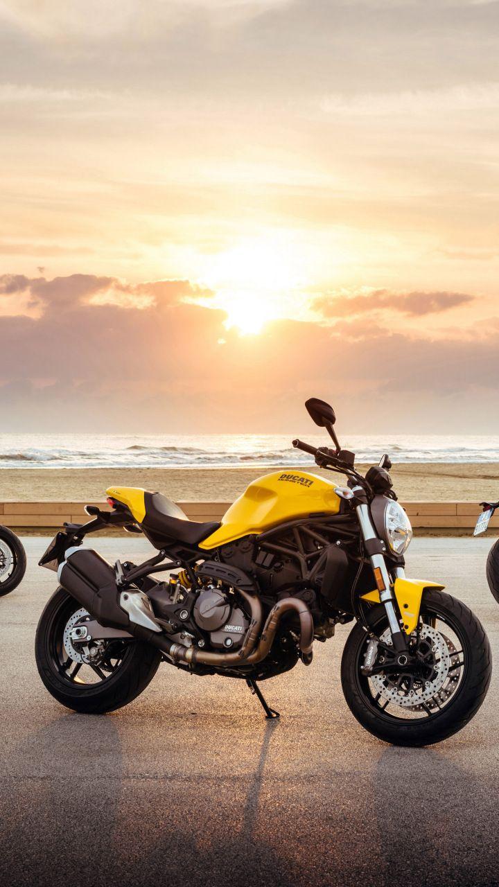 2017 Ducati Monster 821, Bike, 720x1280 Wallpaper