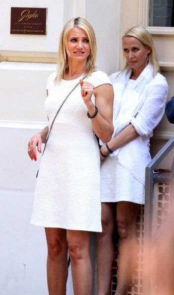 Cameron Diaz Photos - Stars On Set Of 'The Other Woman' - Zimbio