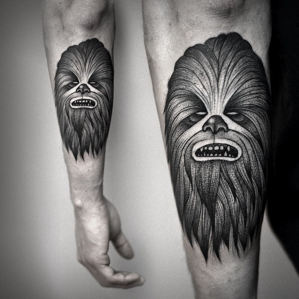 30 Chewbacca Tattoo Designs For Men – Star Wars Ink Ideas recommendations