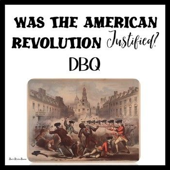 Events Leading To The American Revolution Activity American