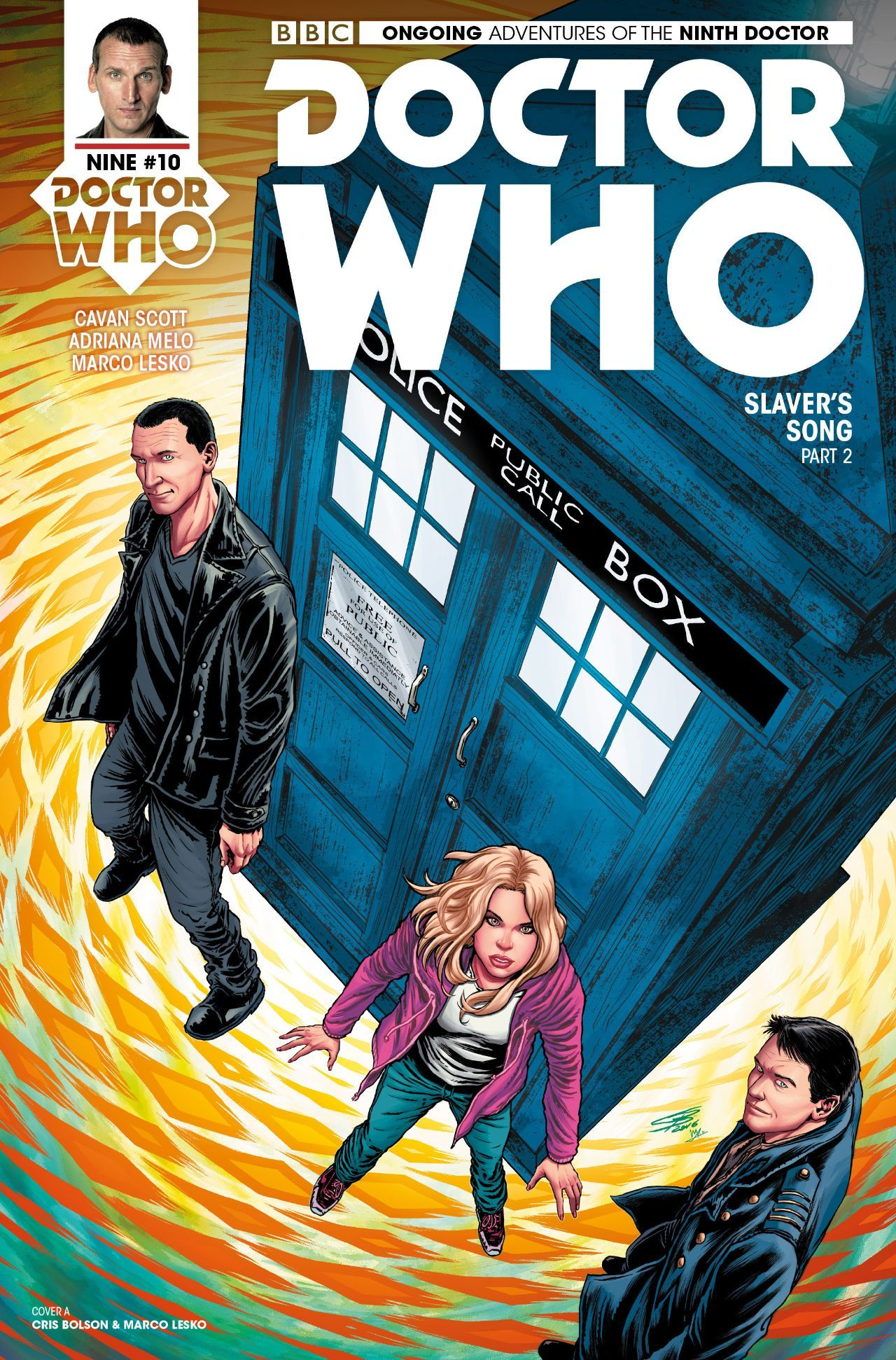 Doctor Who: The Ninth Doctor #2.10 #TitanComics @titancomics @comicstitan #DoctorWho #TheNinthDoctor (Cover Artist: Cris Bolson) Release Date: 3/1/2017