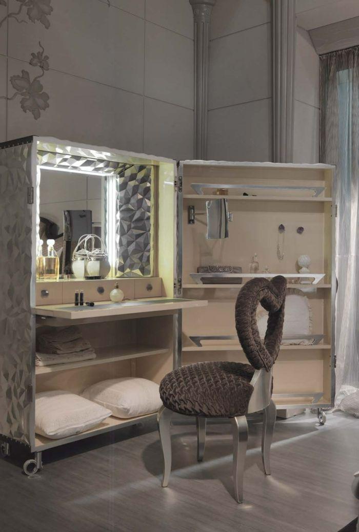 Spiegel mit beleuchtung für schminktisch  schminktisch mit spiegel und beleuchtung | Spiegel Modelle ...