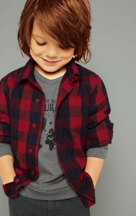 14+ Toddler boy with long hair info