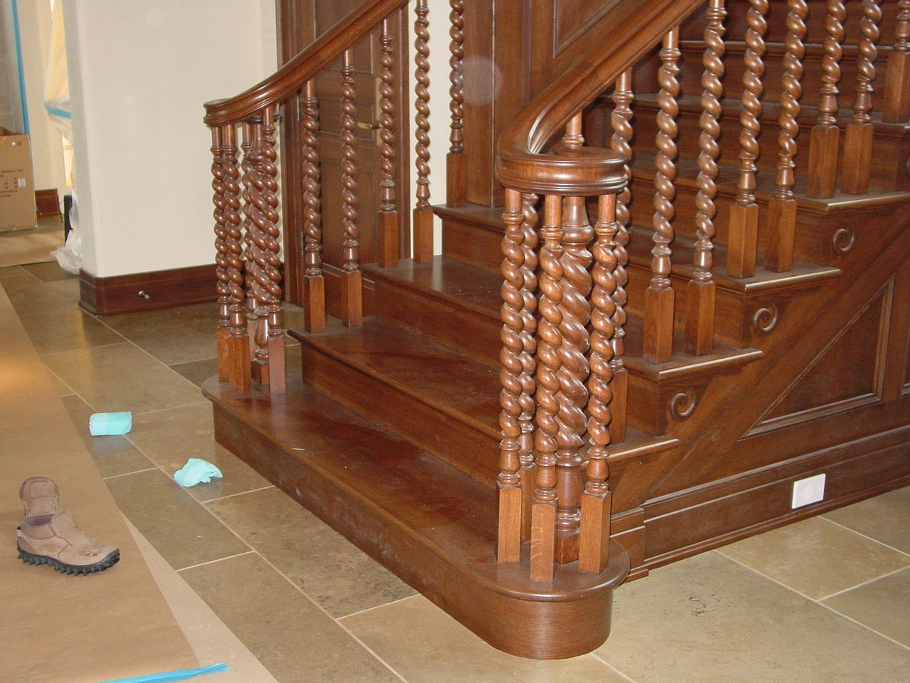 Barley Twist Stair Spindles    My Absolute Favorite Spindle Treatment