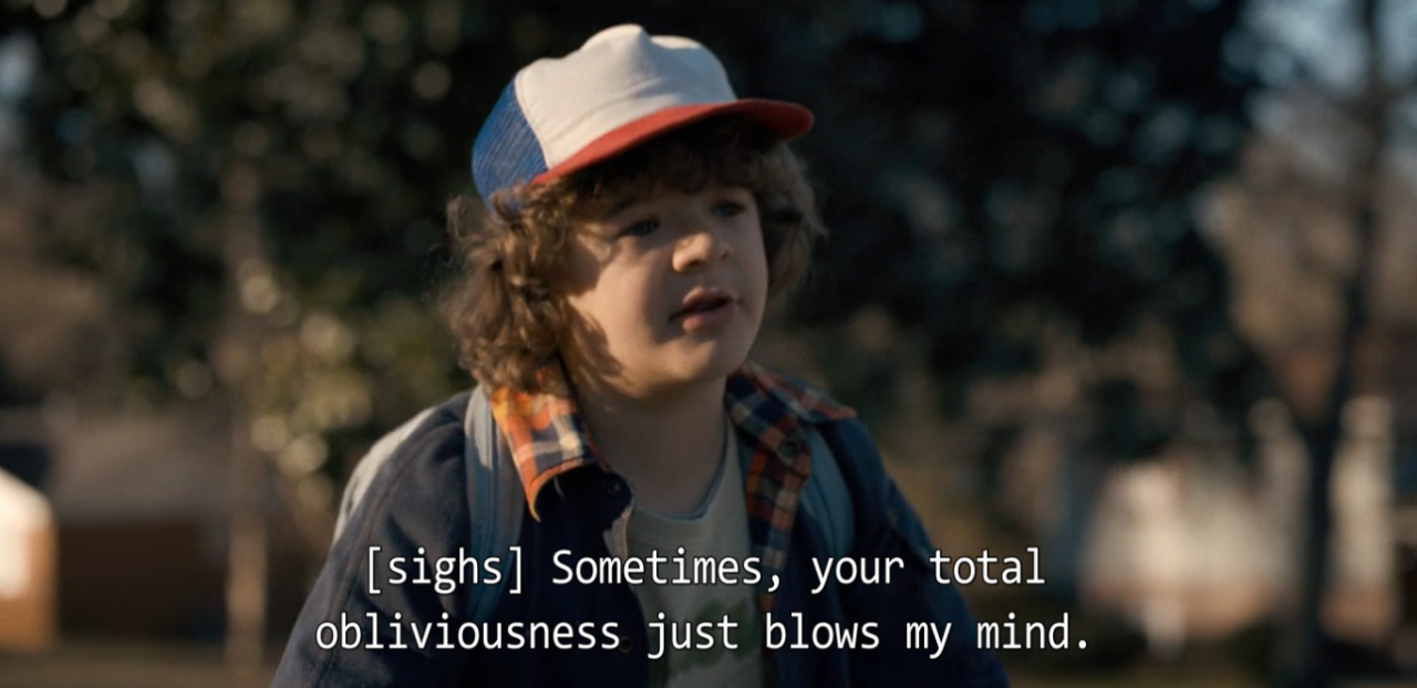 Dustin Is My Fave Stranger Things Film Cinema Paradiso