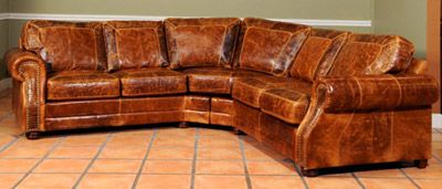 Grandover Leather Sofa You Can Pick Color Style This