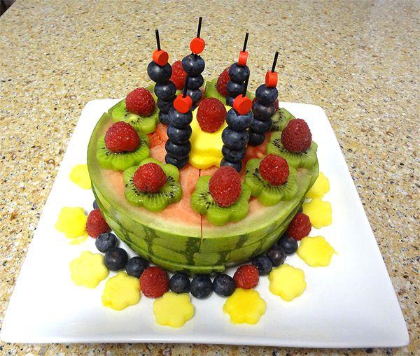 Fruit Cake Obstkuchen als gesunde Alternative fr