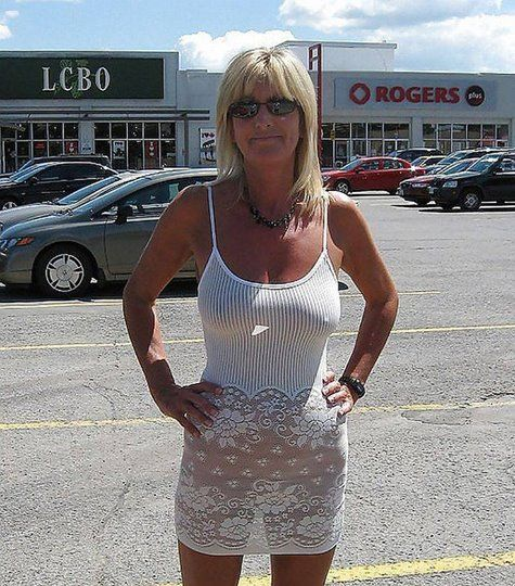 Women in public mature This woman