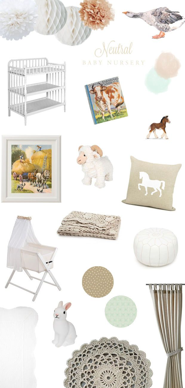 Neutral Baby Nursery Would Look Good Against The