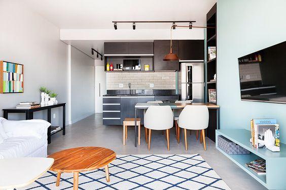Ideas para incluir sala cocina y comedor juntos for Sala cocina y comedor en un solo ambiente pequeno