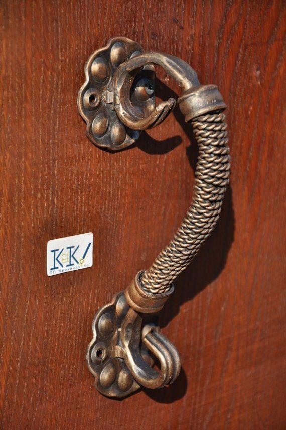 Handles door forged-Forged handles - front door - wicket - gate-garage doors-Wrought iron-Home decor & Handles door forged-Forged handles - front door - wicket - gate ...