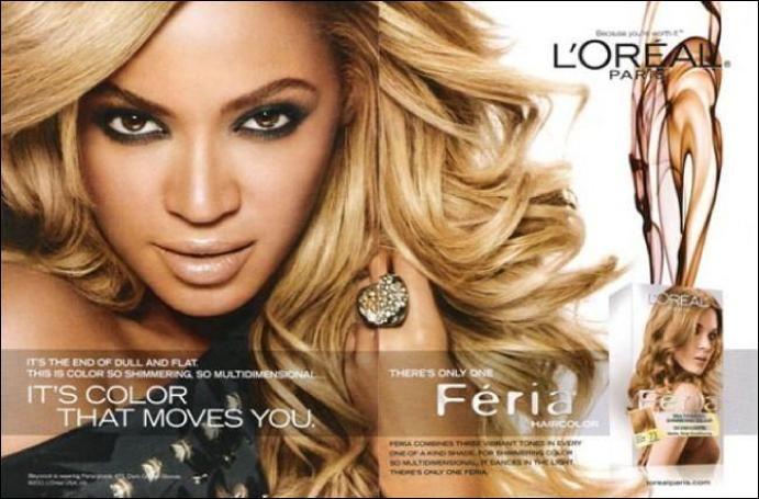 Beyonce Skin Lightening Secret Salon Hair Color Dyed Hair Box Hair Dye