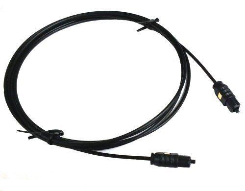 PCD Basics Fiber Optic Audio Cable - 6ft (1 8M) by
