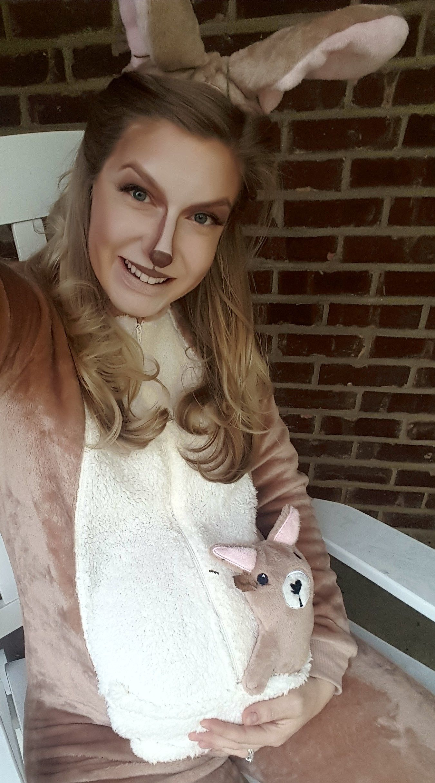 Photo of Kangaroo-sminke til Halloween-drakt