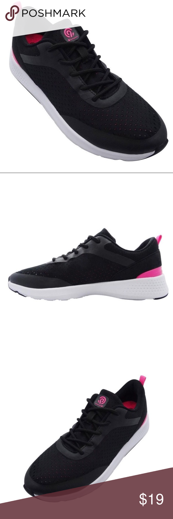7a83a5fc95869 C9 champion black womens athletic shoes size 9 C9 Champion Black Women s  Paradigm 3 Performance Athletic