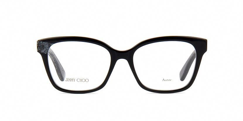 6d0a728903a Jimmy Choo JC150 Q3M Black and Glitter Glasses