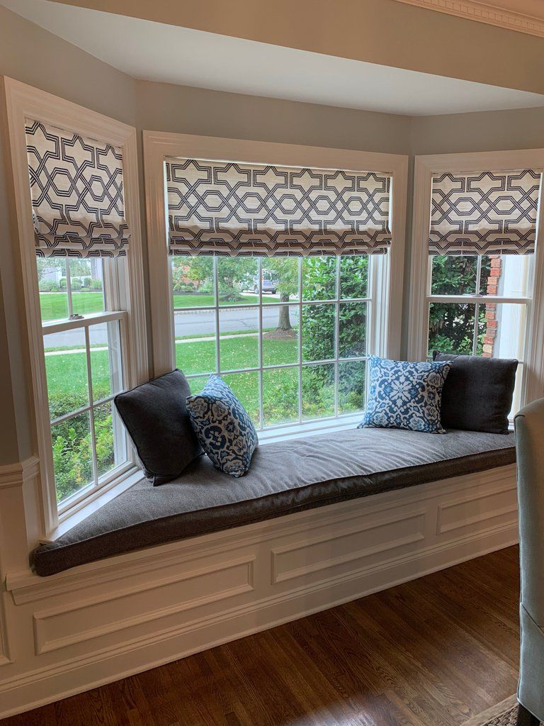 White And Grey Kitchen Curtains