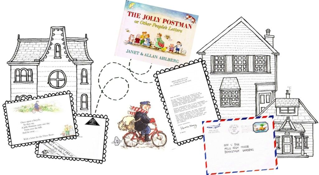 The jolly postman literacy school and eyfs the jolly postman printables spiritdancerdesigns Images