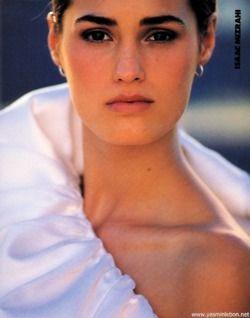 """City Options!"", Elle US, February 1990  Photographer : Gilles Bensimon  Model : Yasmin Le Bon"