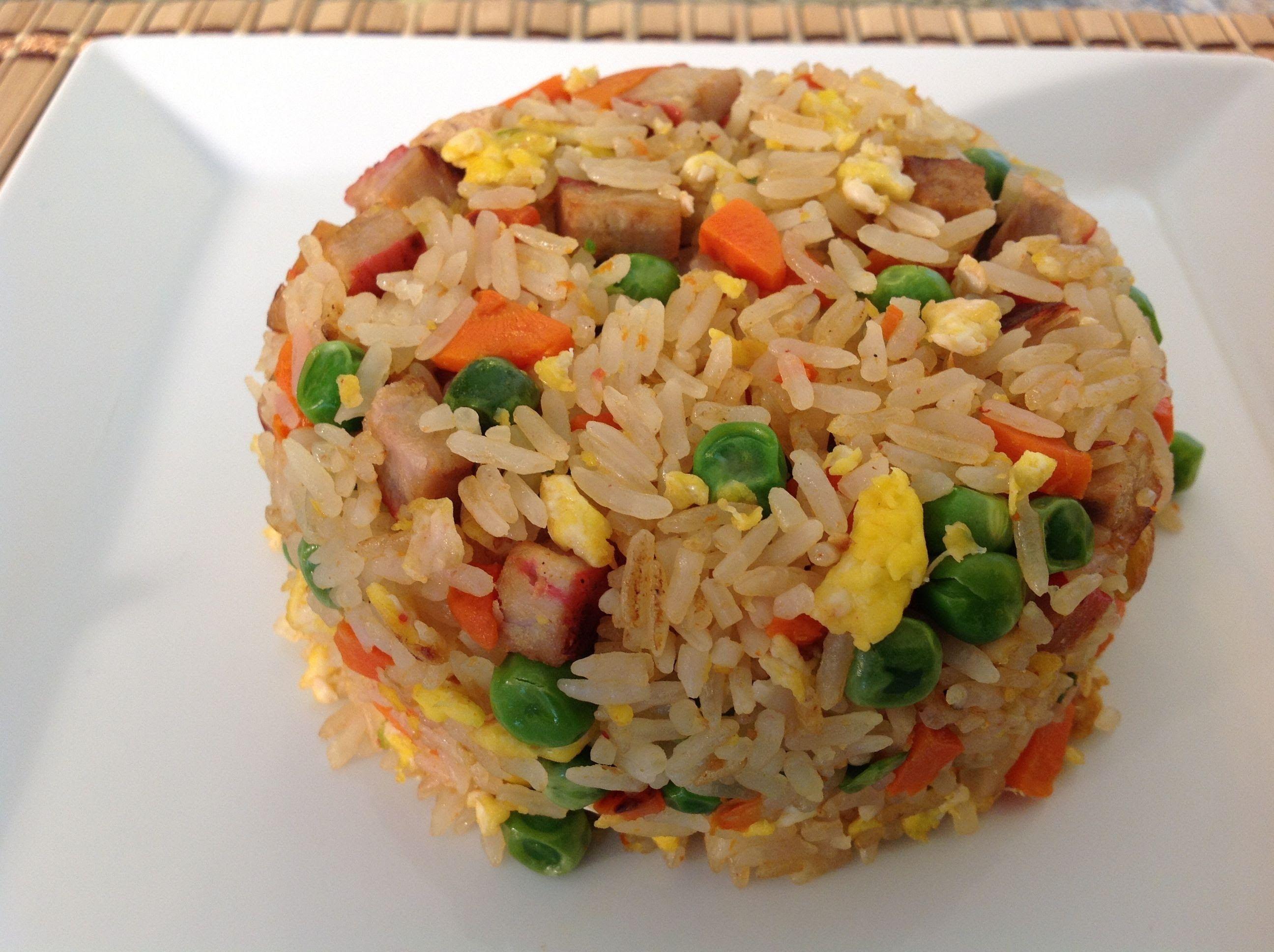 Pork fried rice recipe how to make pork fried rice asian food pork fried rice recipe how to make pork fried rice asian food recipes forumfinder Images