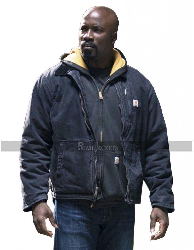 Marvel Men s Luke Cage Bullet Holes Zip up Hoodie ba7dacc3a01