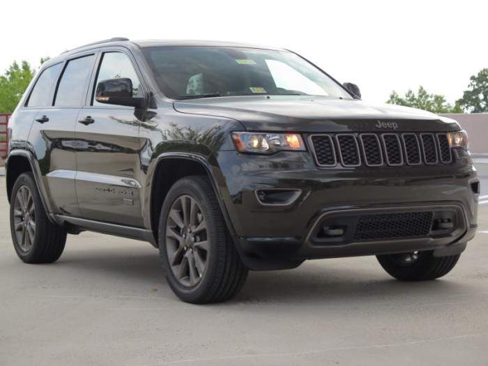 2017 Jeep Grand Cherokee Limited Configuration Price Release