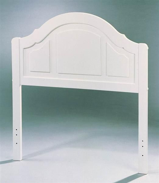 Youth White Wood Twin Bed Headboard Only