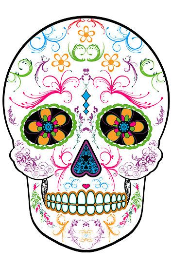 Pin By Tiffany Baxter On Tattoos Piercings Skull Wallpaper Sugar Skull Tattoos Sugar Skull Art