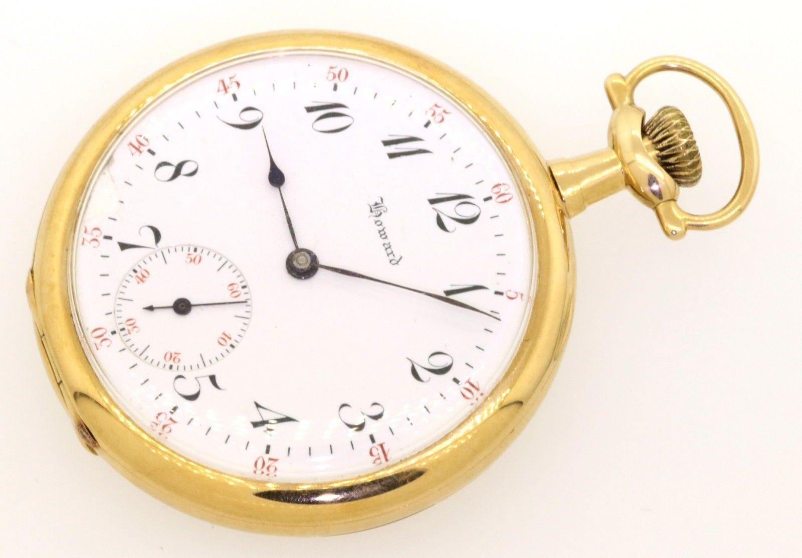 E. Howard Watch Co. antique 14K gold mechanical pocket watch https://t.co/TQuIrednbu https://t.co/6MHsaWlTrs