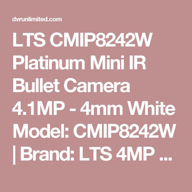 LT Security CMIP8242W IP Camera Drivers for Windows Mac