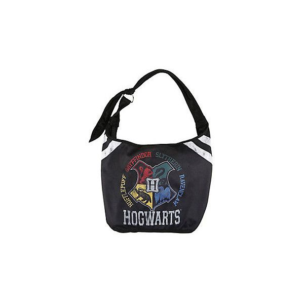 a821aedbbe2f WB Harry Potter Hogwarts Varsity Hobo Bag ( 20) ❤ liked on Polyvore ...